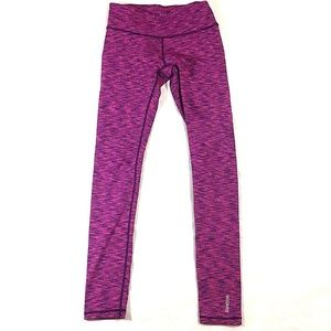 Reebok Women's Bright Pink Leggings Size XS